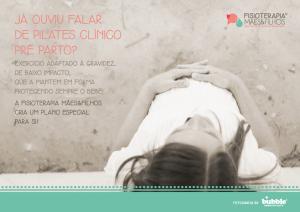 Pilates Clínico Pré-parto