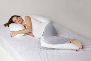 Almofadas na gravidez